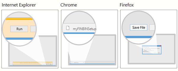 Install myFINBIN on a Desktop or Laptop
